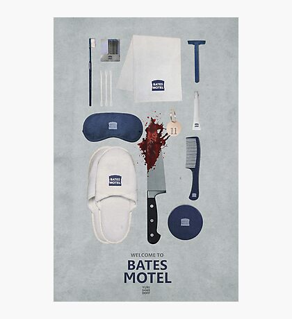 Bates Motel Art Poster Photographic Print