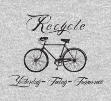 Recycle Bike Cycling Bicycle Men's by SportsT-Shirts