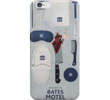 Bates Motel Art Poster iPhone Case/Skin