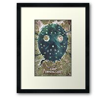 Welcome To Camp Crystal Lake Framed Print