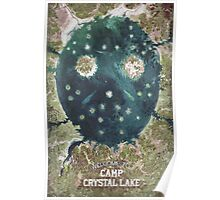 Welcome To Camp Crystal Lake Poster