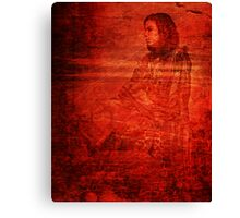 Red Opium Haze Canvas Print
