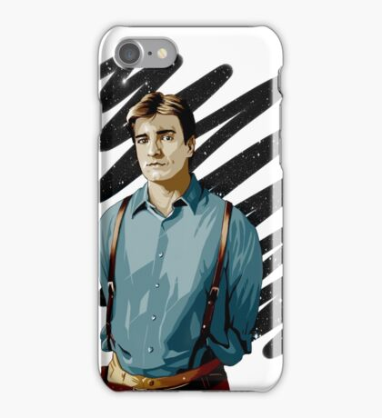 Malcolm Reynolds aka Mal aka… Nathan Fillion iPhone Case/Skin