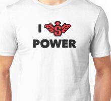 I heart Super Power Unisex T-Shirt