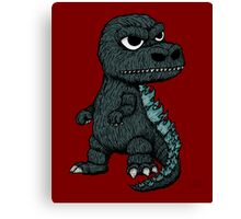 Baby Godzilla Canvas Print