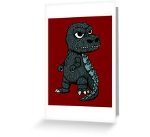 Baby Godzilla Greeting Card