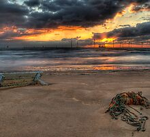 Sunrise At Redcar by Joe Kirby