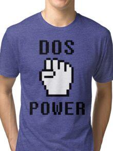 DOS-POWER Tri-blend T-Shirt