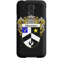 Alexander Coat of Arms/Family Crest Samsung Galaxy Case/Skin