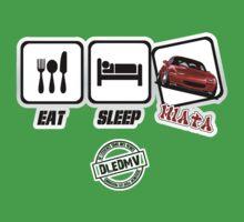 DLEDMV - Eat Sleep Miata Kids Clothes