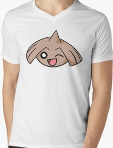 Cute Winking Hitmontop Mens V-Neck T-Shirt