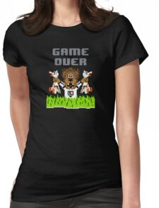 Duck Season (Dark) Womens Fitted T-Shirt