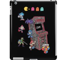Arcade Game Booth /w background iPad Case/Skin