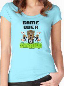 Duck Season (Light) Women's Fitted Scoop T-Shirt