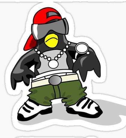 Penguin Swag Sticker