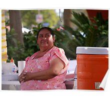 Sunday Vendor, Cabo San Lucas Poster