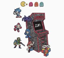Arcade Game Booth /without background by Pandora's  Scribbles