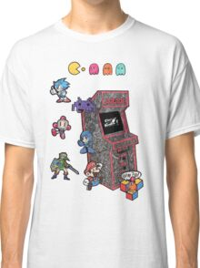 Arcade Game Booth /without background Classic T-Shirt