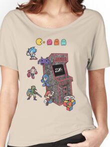 Arcade Game Booth /without background Women's Relaxed Fit T-Shirt