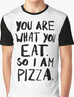 I am Pizza Graphic T-Shirt