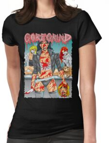 Goregrind Chicks Womens Fitted T-Shirt