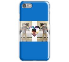 Brent Rivera Mirror heart iPhone Case/Skin