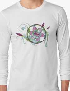 spring yoga  Long Sleeve T-Shirt