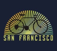 Bike San Francisco Dark Kids Clothes