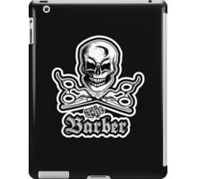 The Barber T-Shirt iPad Case/Skin