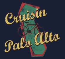 Bike Cycling Bicycle Cruising Palo Alto California by SportsT-Shirts
