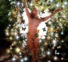 Butterfly Faery by T.B. Thorson