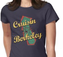 Bike Cycling Bicycle Cruising Berkeley California Womens Fitted T-Shirt