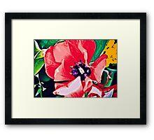 Red Love Framed Print