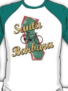 Bike Cycling Bicycle Santa Barbara California T-Shirt