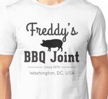Freddy's BBQ Joint (black) Unisex T-Shirt