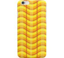 Wavy Plaid (Fire) iPhone Case/Skin