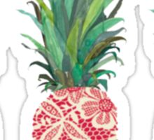 pineapple pine apple pineapple Sticker