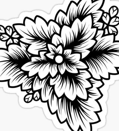 Flora//Two Sticker