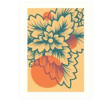Flora//Two Art Print