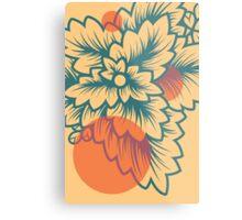Flora//Two Metal Print