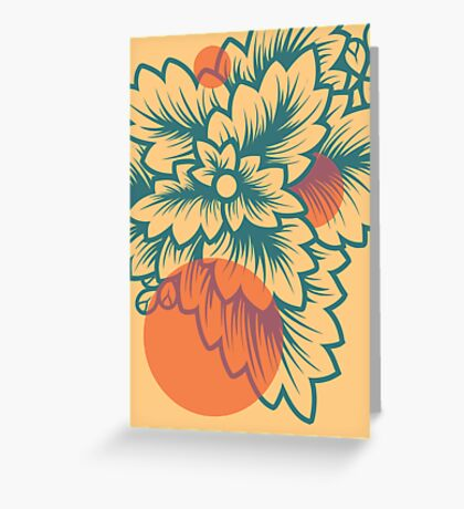 Flora//Two Greeting Card
