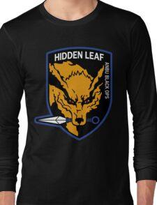 Nine-Tailed Fox Hound Long Sleeve T-Shirt