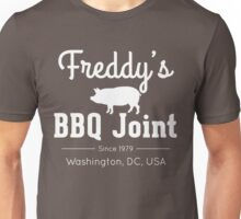 Freddy's BBQ Joint (White) Unisex T-Shirt