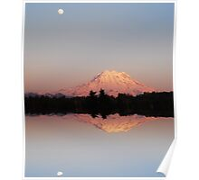 Mt. Rainier Reflections Poster