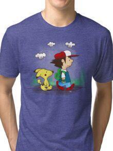 Pokemon Peanuts Tri-blend T-Shirt