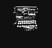 vintage typewriter on dark t-shirt Unisex T-Shirt