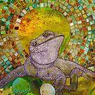 Pomona (Bearded Dragon) by Lynnette Shelley
