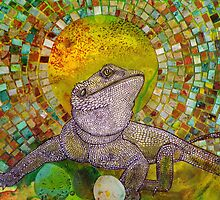 Pomona (Bearded Dragon) by Lynnette Shelley