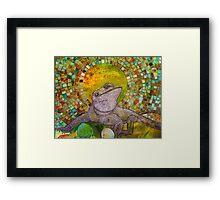 Pomona (Bearded Dragon) Framed Print