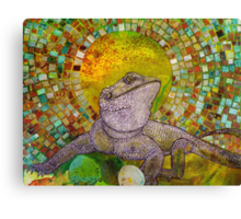 Pomona (Bearded Dragon) Canvas Print